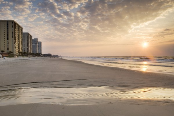 Myrtle Beach Sunrise, Photo courtesy of VisitMyrtleBeach.com