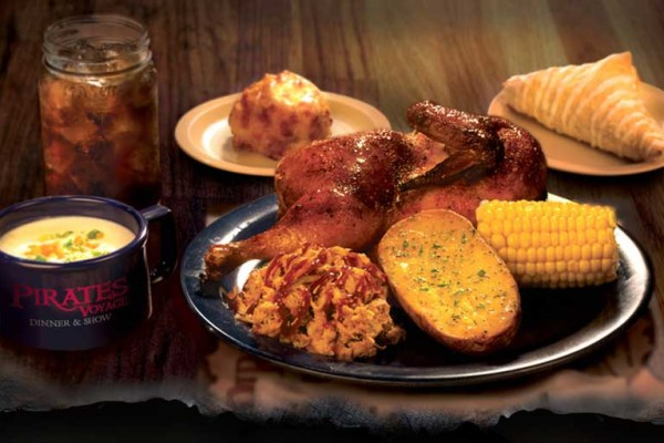 Four Course Pirate Feast at Pirates Voyage® Dinner & Show