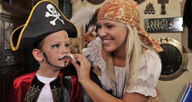 Pirates Treasure Face Painting
