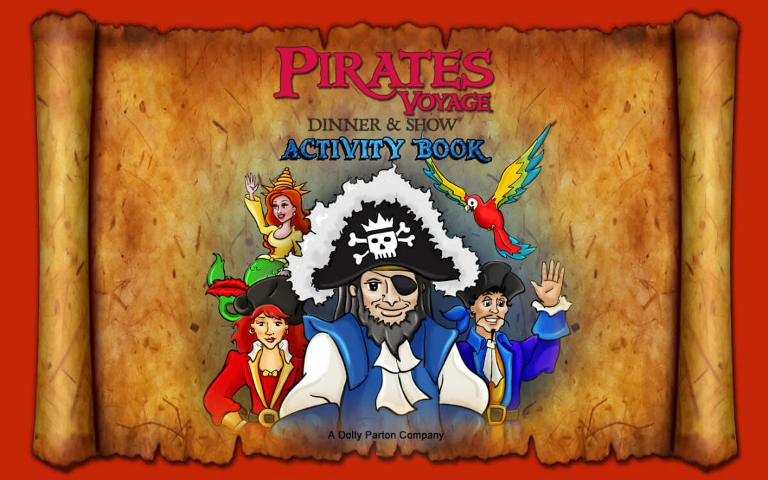 Pirates Voyage Activity Sheet – Word Search