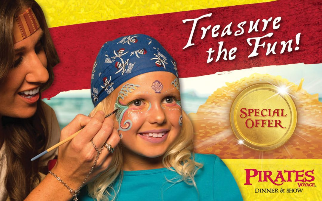 Treasure The Fun At Pirates Voyage Dinner & Show
