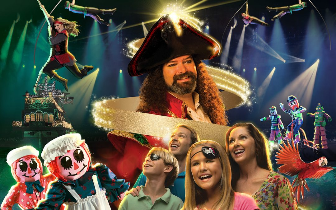 Christmas at Pirates Voyage Begins November 6 In Myrtle Beach, SC