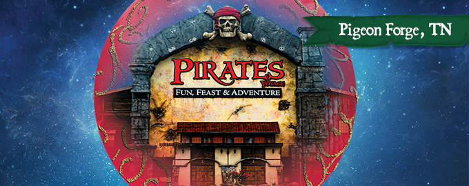 Christmas at Pirates Voyage Pigeon Forge, TN