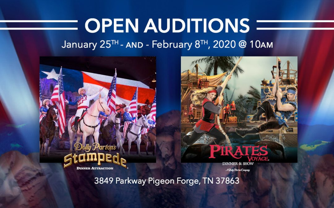 Open Auditions January 25 and February 8 – Performers & Actors