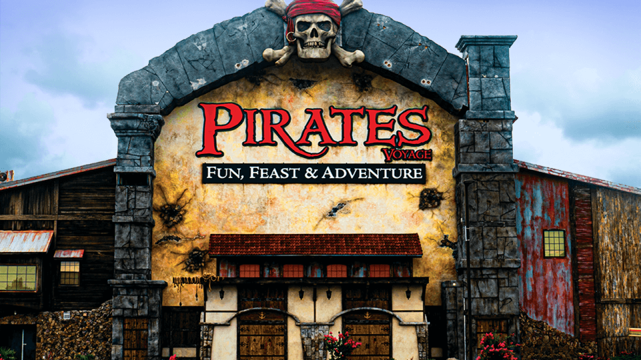 Pirates voyage pigeon forge tn