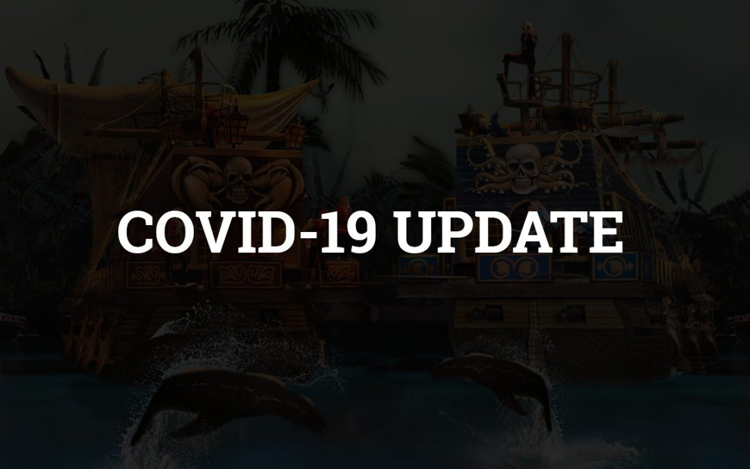 Pirates Voyage Dinner & Show PIRATES VOYAGE CLOSES TEMPORARILY DUE TO CORONAVIRUS (COVID-19) PANDEMIC