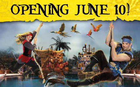 Pirates Voyage Sets Sail Again June IO