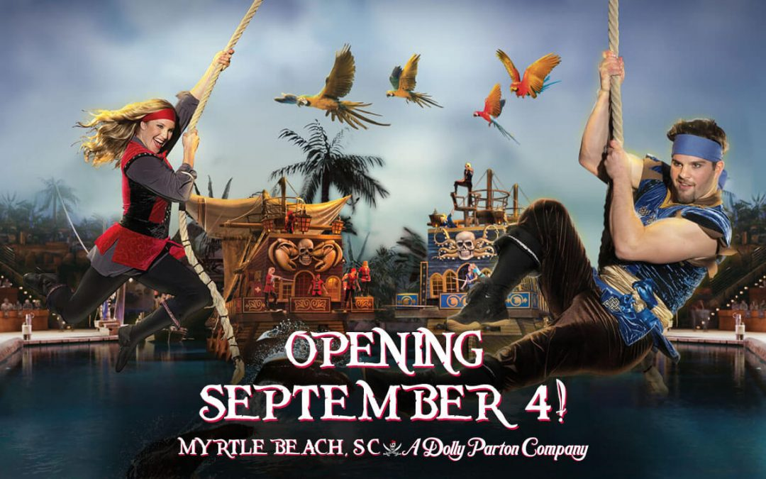 Pirates Voyage Myrtle Beach Opening September 4, 2020