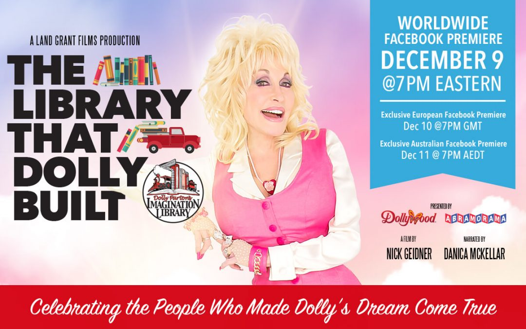 The Library That Dolly Built - Worldwide Facebook Premiere on December 9, 2020