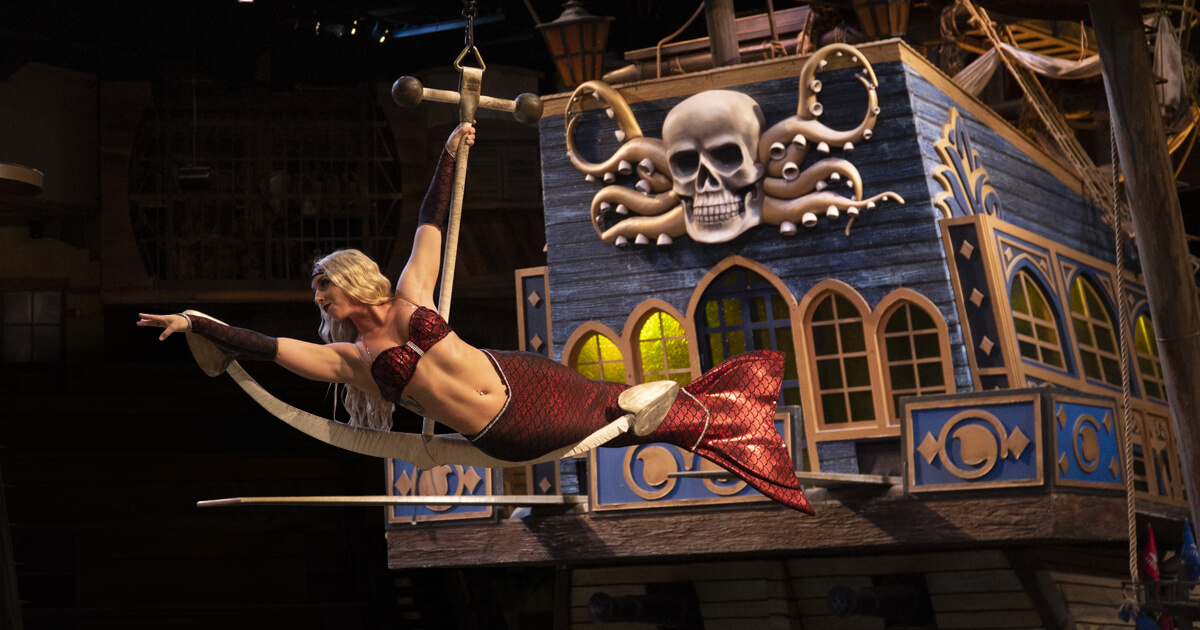 Pirates Voyage Crew share what they love about the thrill-filled show that takes guests on a swashbuckling adventure.