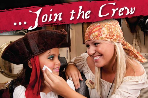 Join The Crew in Pirates Village